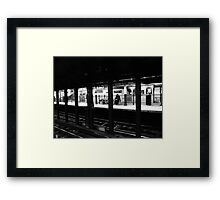 New York City Commuter Framed Print