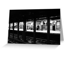 New York City Commuter Greeting Card
