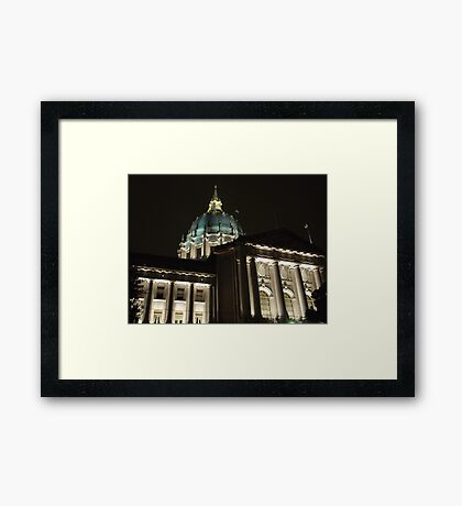 City Hall, San Francisco, CA Framed Print