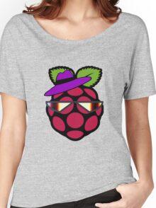 Raspberry Fan [HD] Women's Relaxed Fit T-Shirt