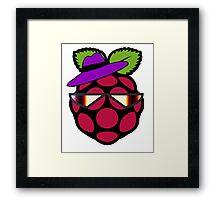 Raspberry Fan [HD] Framed Print