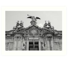 Architecture in Seville, Spain - Real Fábrica de Tabacos Art Print