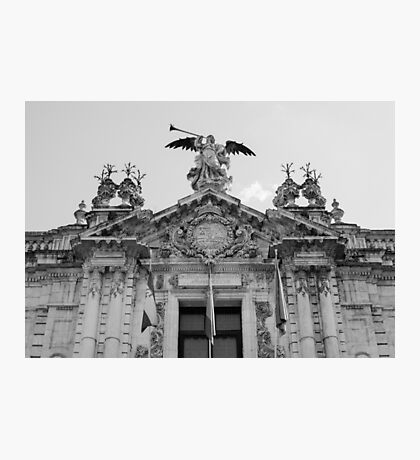 Architecture in Seville, Spain - Real Fábrica de Tabacos Photographic Print