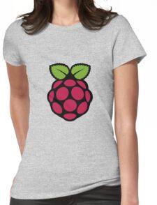 Raspberry Fan [HD] Womens Fitted T-Shirt