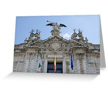 Architecture in Seville, Spain - Real Fábrica de Tabacos Greeting Card