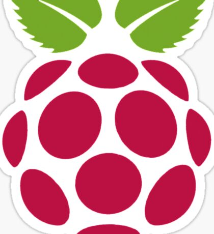 Raspberry Fan [HD] Sticker