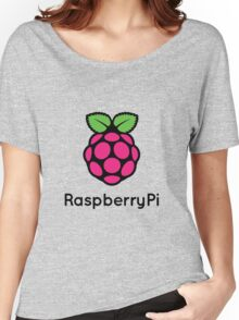 Raspberry Fan [HD] Women's Relaxed Fit T-Shirt