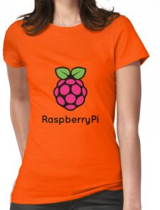 Raspberry Fan [HD] Womens Fitted T-Shirt