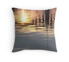 The Bridge - Lake Austin, TX Throw Pillow