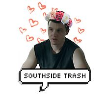 southside trash!mickey milkovich Photographic Print