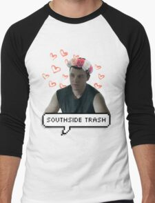 southside trash!mickey milkovich Men's Baseball ¾ T-Shirt