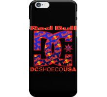 Red Bull DC Shoes iPhone Case/Skin