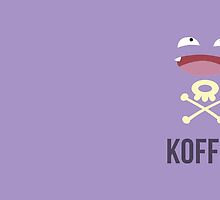 Koffing Koffee (Pokemon) by Daxes