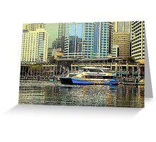 Darling Harbour Greeting Card
