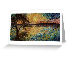Rainbow Sea Greeting Card