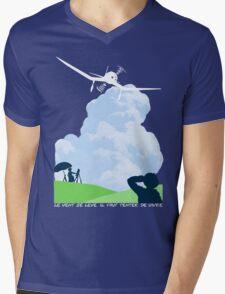 Wind rises Mens V-Neck T-Shirt