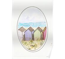 The Beach Huts Poster