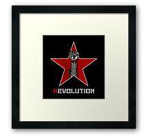 R evolution Framed Print