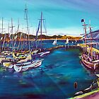Safely in - Sydney to Hobart Yacht race by robert (bob) gammage