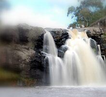 Turpin Falls, Gods speed by Lozzar Landscape
