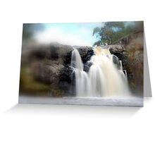 Turpin Falls, Gods speed Greeting Card
