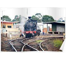 Steamtrain Taree N.S.W.Australia. Poster