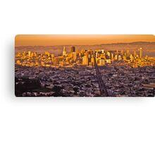 Good Evening San Francisco... Canvas Print