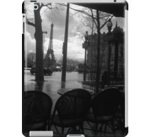 Cafe after the rain iPad Case/Skin
