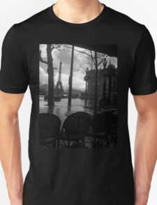 Cafe after the rain Unisex T-Shirt