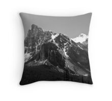 Jagged Peaks Throw Pillow