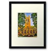 Study in Boston College Framed Print