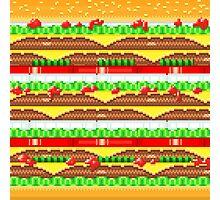 Pixel Burger Photographic Print