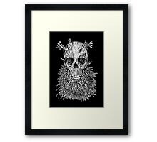 The Lumbermancer B/W Framed Print