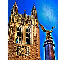 Boston College Photographic Print