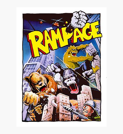 rampage Photographic Print