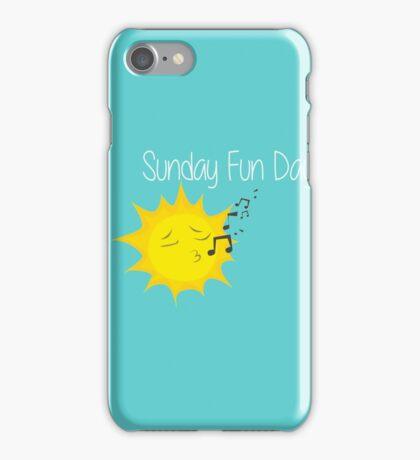 Sunday Fun Day iPhone Case/Skin