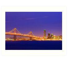 Bay Bridge San Francisco Art Print