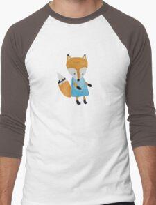Forest Friends Fox Men's Baseball ¾ T-Shirt