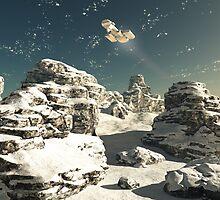 Winter Overflight by algoldesigns