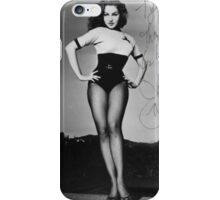 Thanks for Everything, Julie Newmar iPhone Case/Skin
