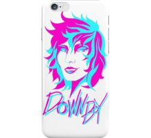 Down Boy With Text iPhone Case/Skin