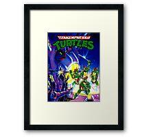 teenage mutant ninja turtles 90s Framed Print