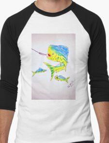 MahiMahi Men's Baseball ¾ T-Shirt