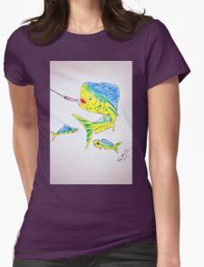 MahiMahi Womens Fitted T-Shirt