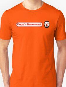 Papa's Basement Entertainment Podcast Unisex T-Shirt