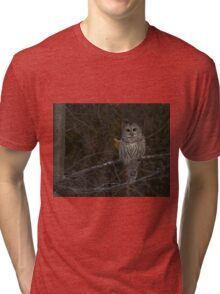 My my what big eyes you have Tri-blend T-Shirt