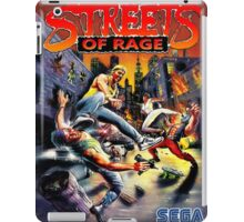streets of rage 90s iPad Case/Skin