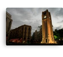 """Downtown Beirut, Lebanon (""""Solidere"""" area) Canvas Print"""