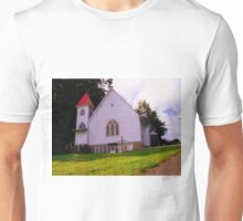 Red Cap And Tower  Unisex T-Shirt