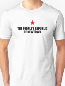 People's Republic of Newtown (Black) T-Shirt
